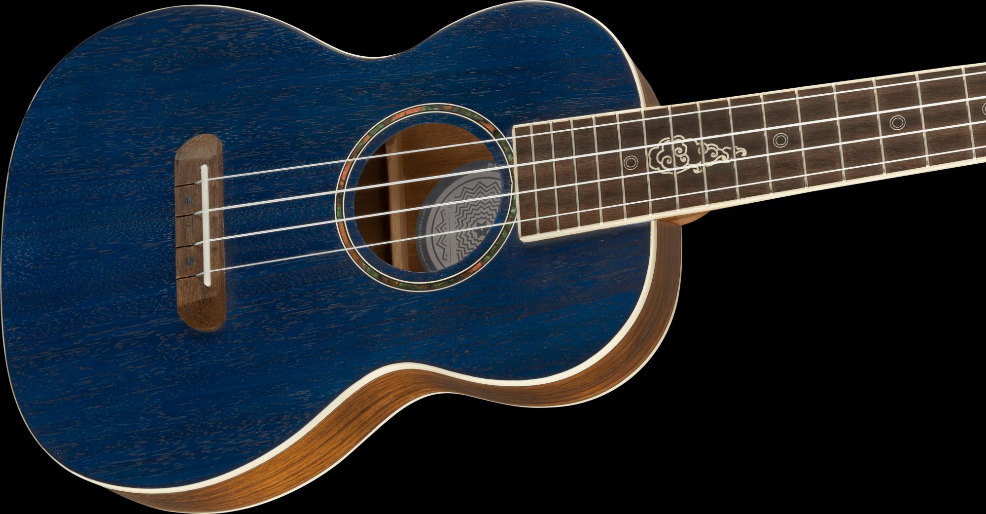 Fender Dhani Harrison Uke Sapphire Blue