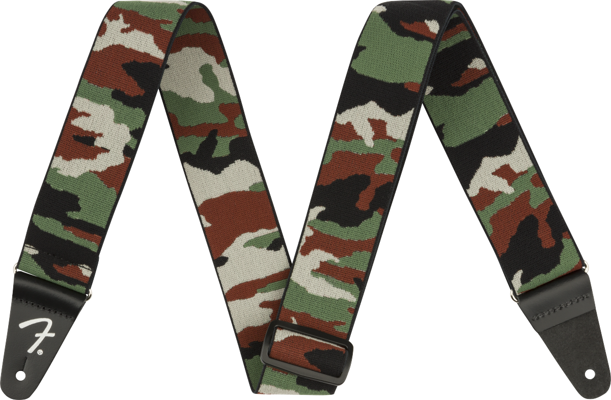Fender WeighLess 2 Camo Strap