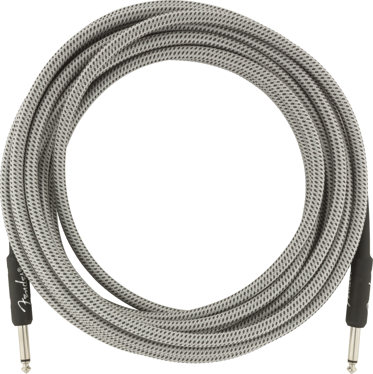 Fender Professional Series Instrument Cable, 18.6', White Tweed
