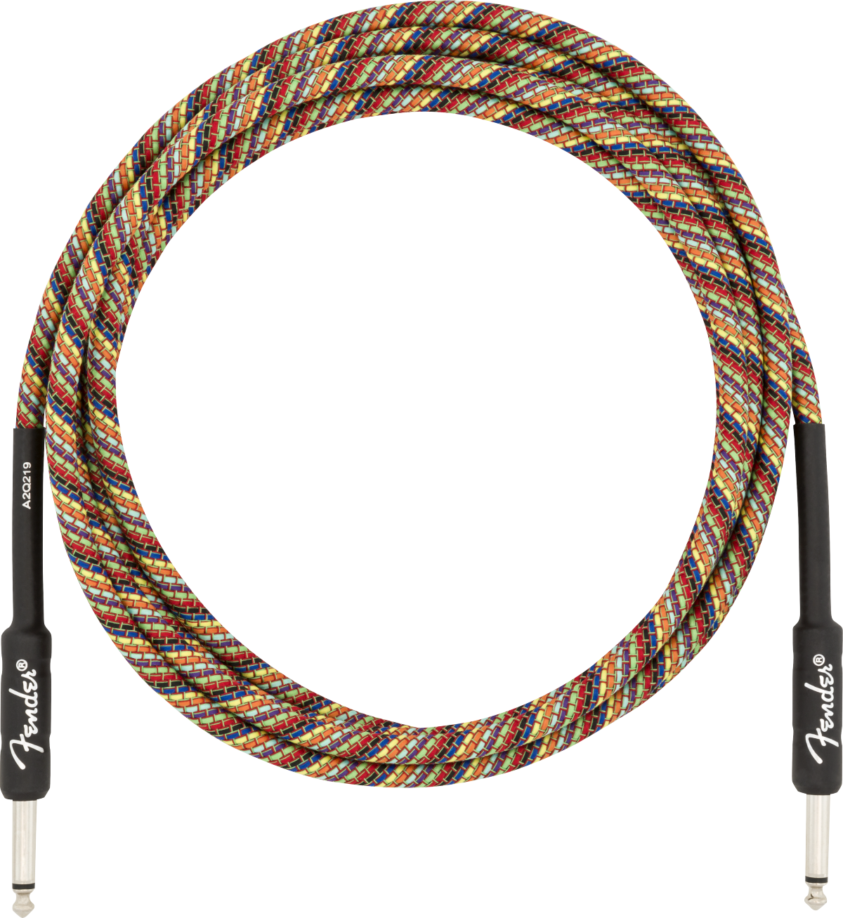 Fender Festival Instrument Cable - Rainbow - 10'