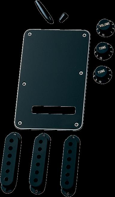 Fender Accessory Kit Stratocaster - Black