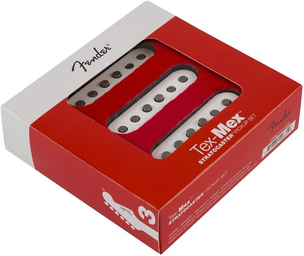 Fender Tex-Mex Stratocaster Pickups Set (3) - White