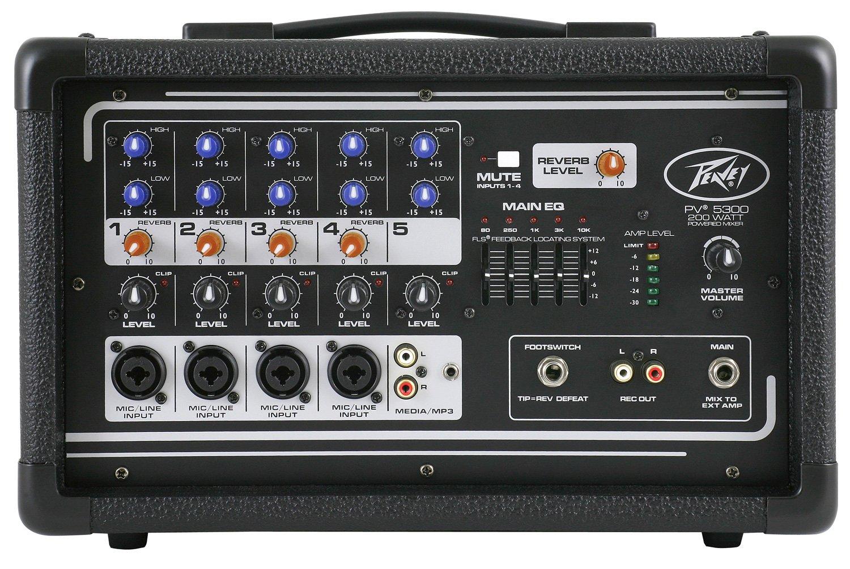 Peavey PV 5300 Powered Mixer