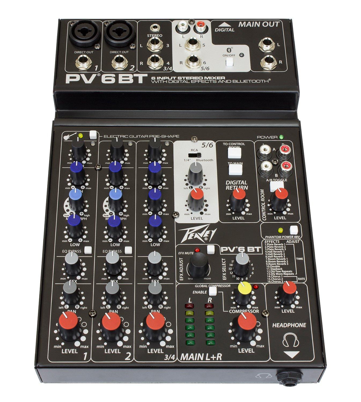 Peavey PV 6 BT Mixer