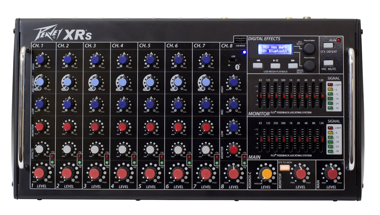 Peavey XR-S 1000-Watt Powered Mixer