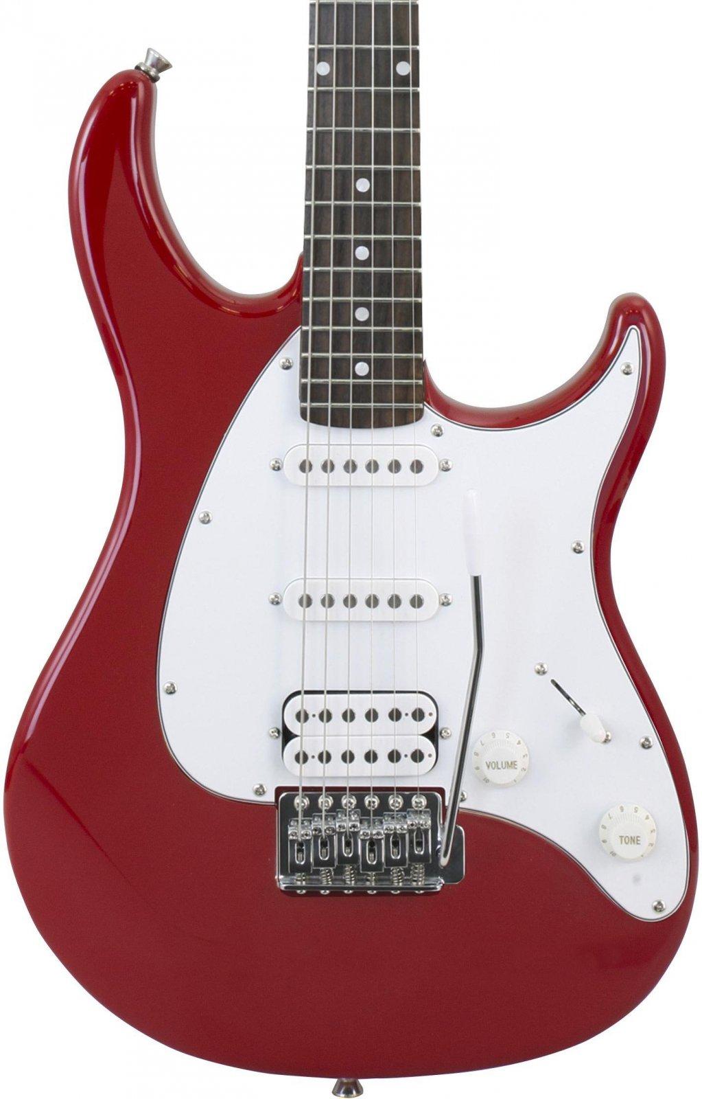 Peavey Raptor Plus Electric Guitar SSH - Red