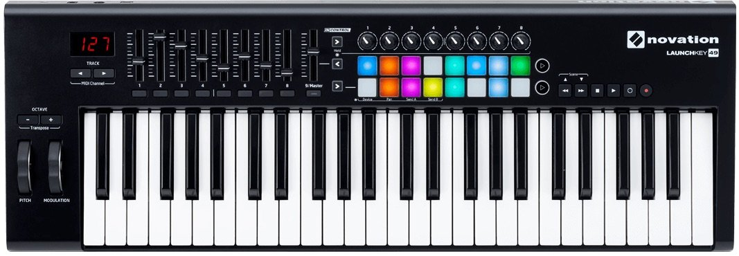 Novation Launchkey 49 MK2-49 Note Key Controller