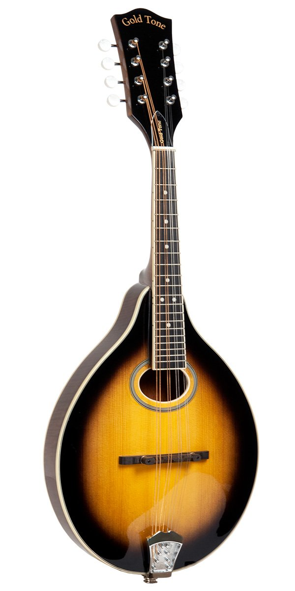 Gold Tone A Style Mandolin Solid Spruce Top, Maple Back/Sides A/E w/ Gig Bag
