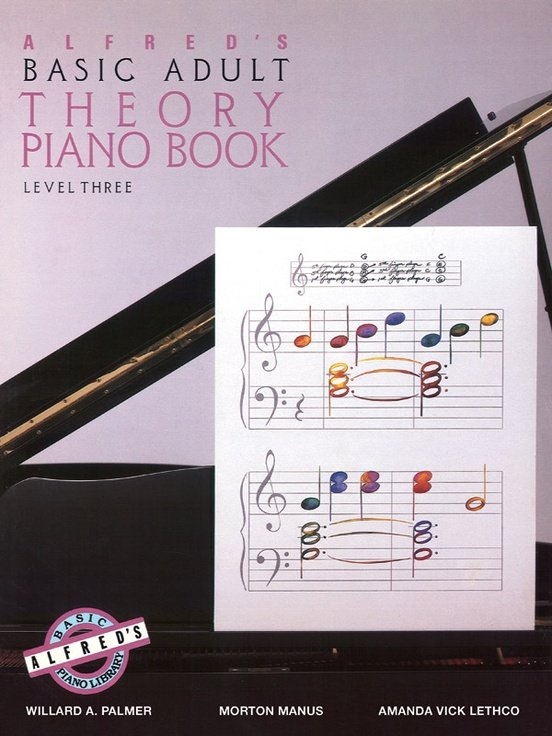 Alfred's Basic Adult Theory Piano Book Level 3