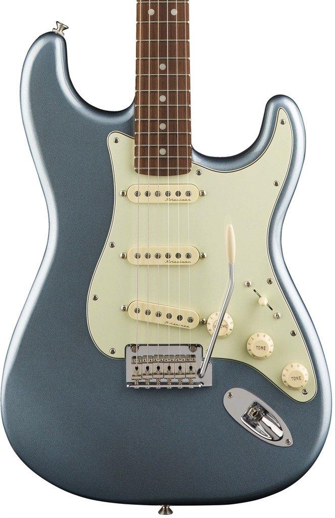 Fender Deluxe Roadhouse Stratocaster, Pau Ferro Fingerboard, Mystic Ice Blue