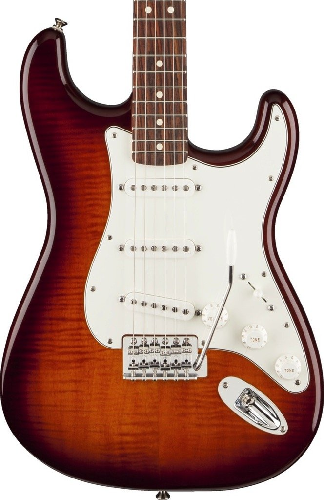Fender Standard Stratocaster Plus Top-Tobacco Sunburst