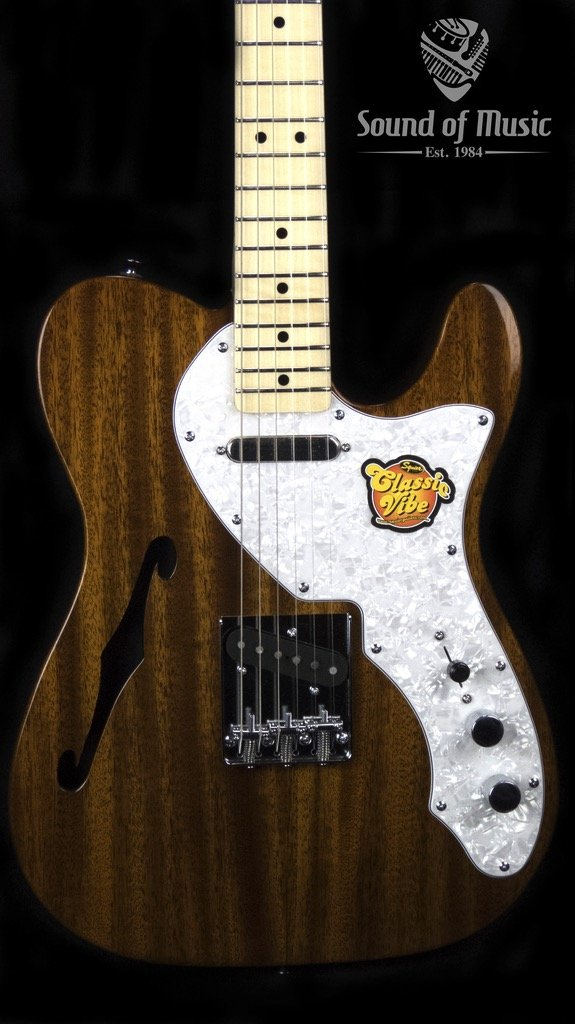 Classic Vibe Telecaster Thinline, Maple Fingerboard, Natural