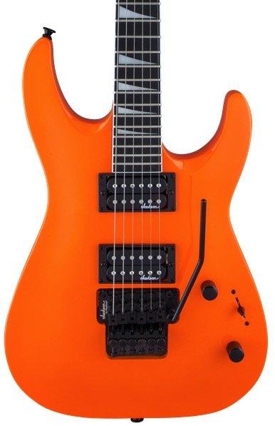 Jackson JS Series Dinky Arch Top JS32 - Neon Orange