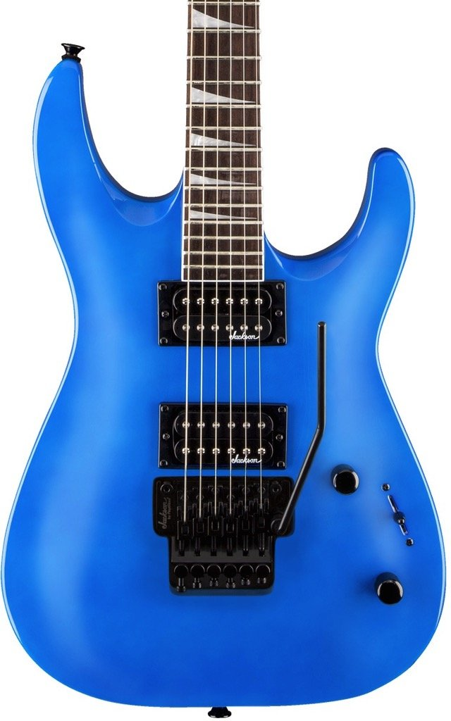 Jackson JS Series Dinky Arch Top JS32, Rosewood Fingerboard, Bright Blue