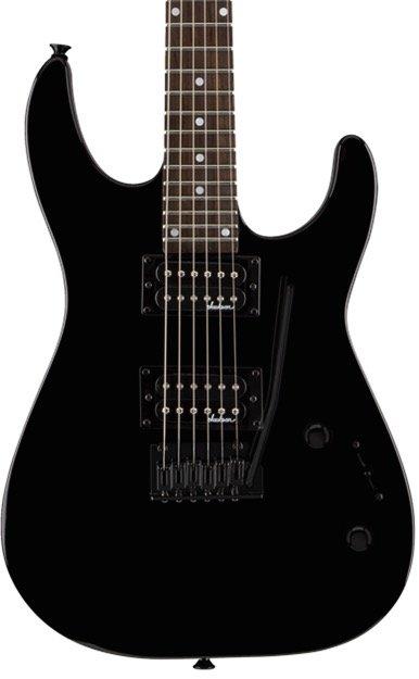 Jackson JS Series Dinky JS12, Rosewood Fingerboard, Gloss Black