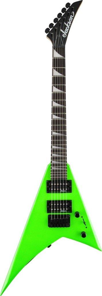 JS Series RR Minion JS1X, Rosewood Fingerboard, Neon Green