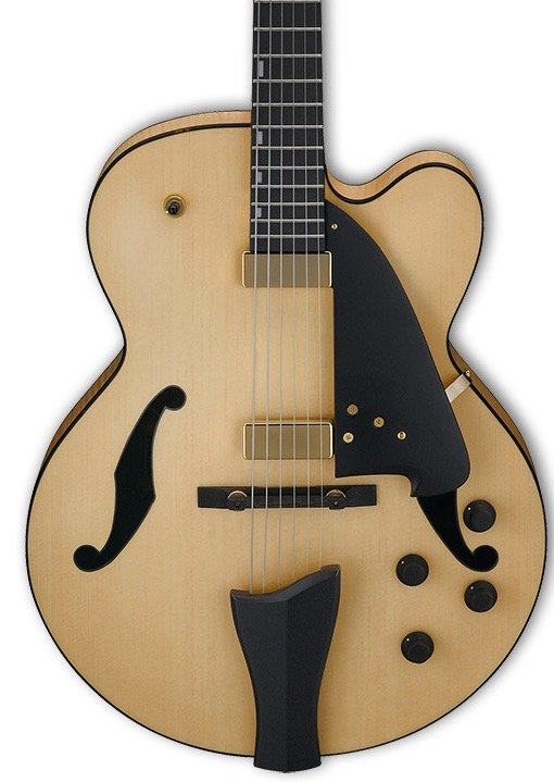 Ibanez AFC95NTF Contemporary Archtop - Natural Flat
