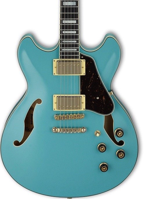 Ibanez AS73GMTB Artcore  - Mint Blue