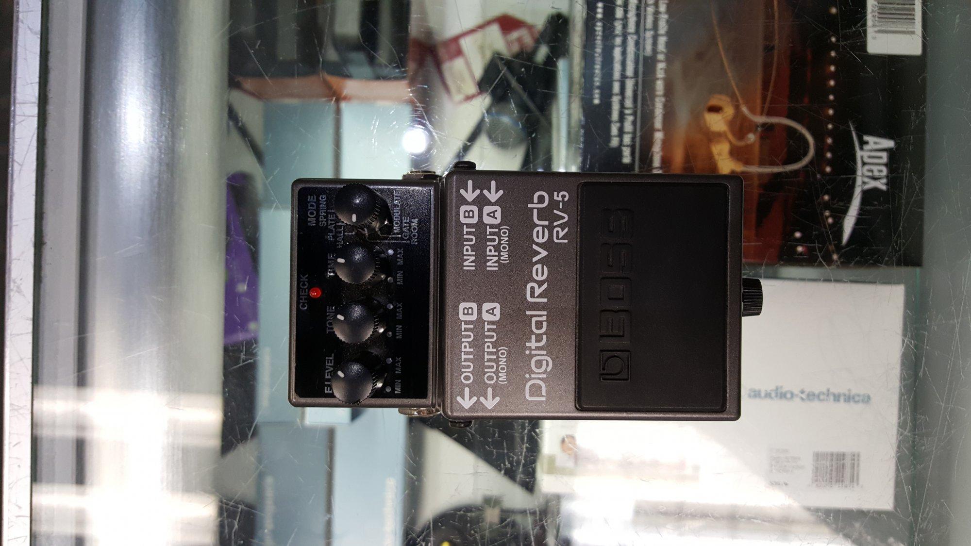 Used Boss RV-5 Reverb Pedal