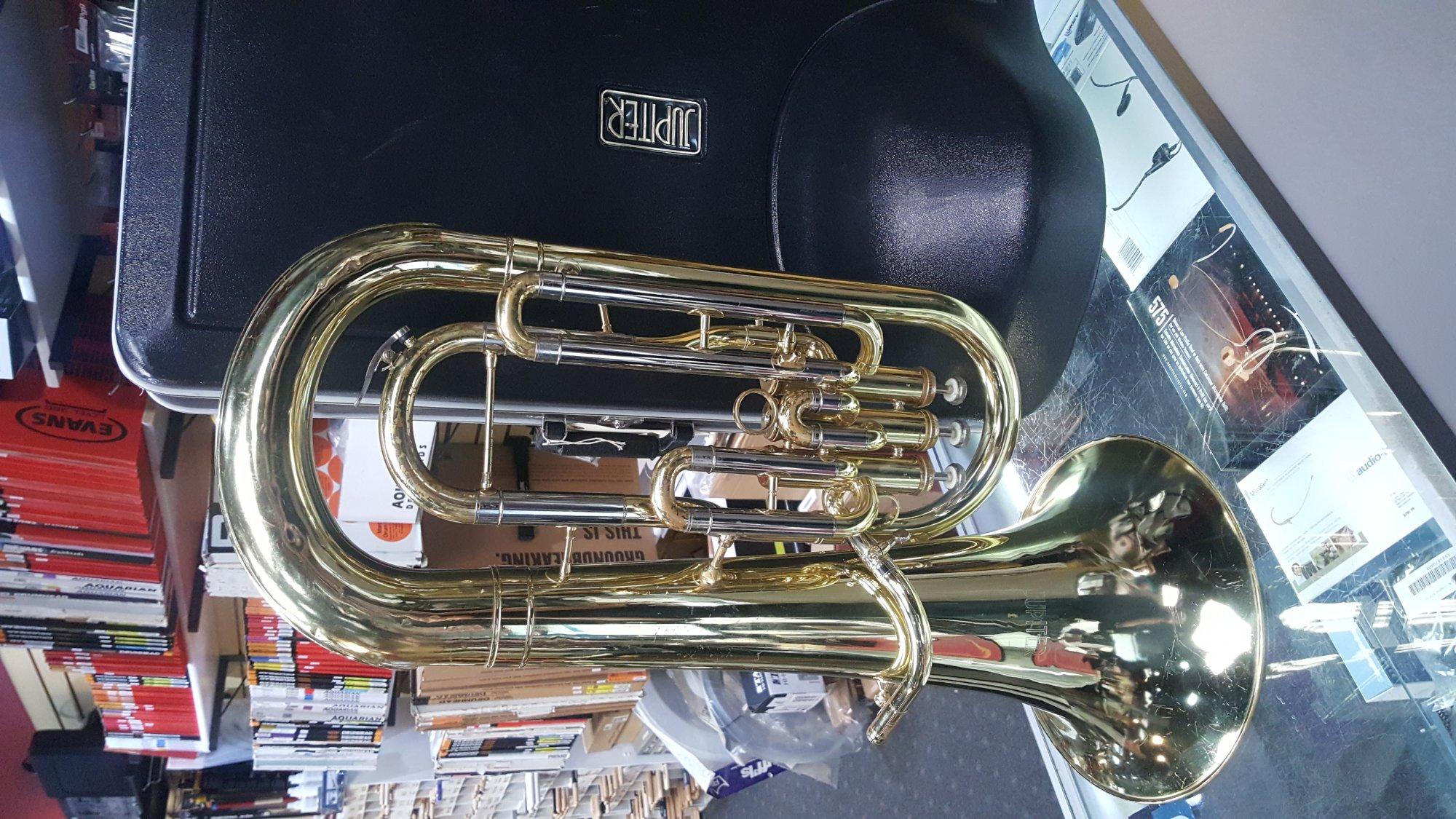 Used Jupiter 468L Baritone w/ Case