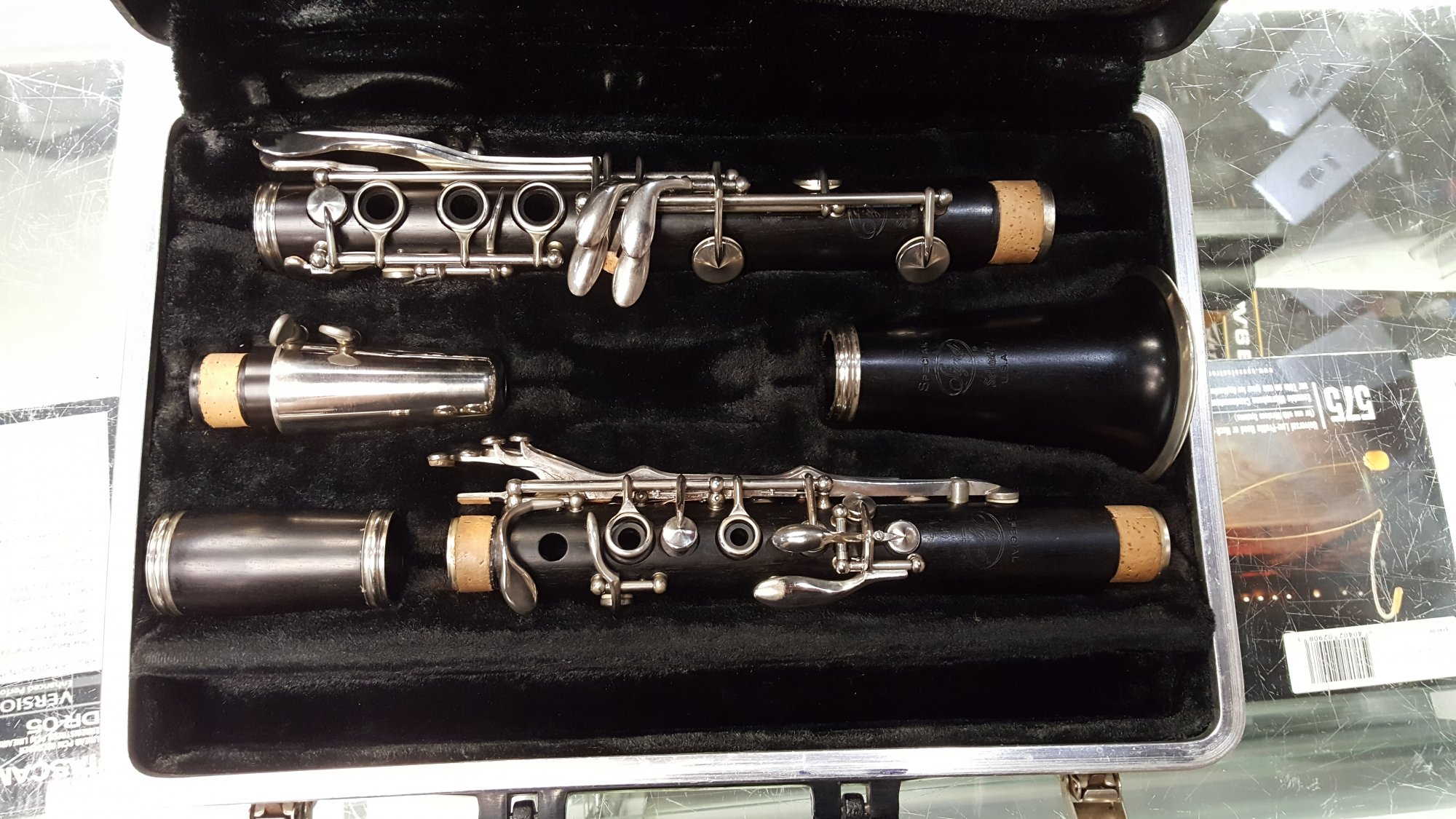 Used Selmer Signet Special Wooden Clarinet w/ Case, HS Star Mouthpiece