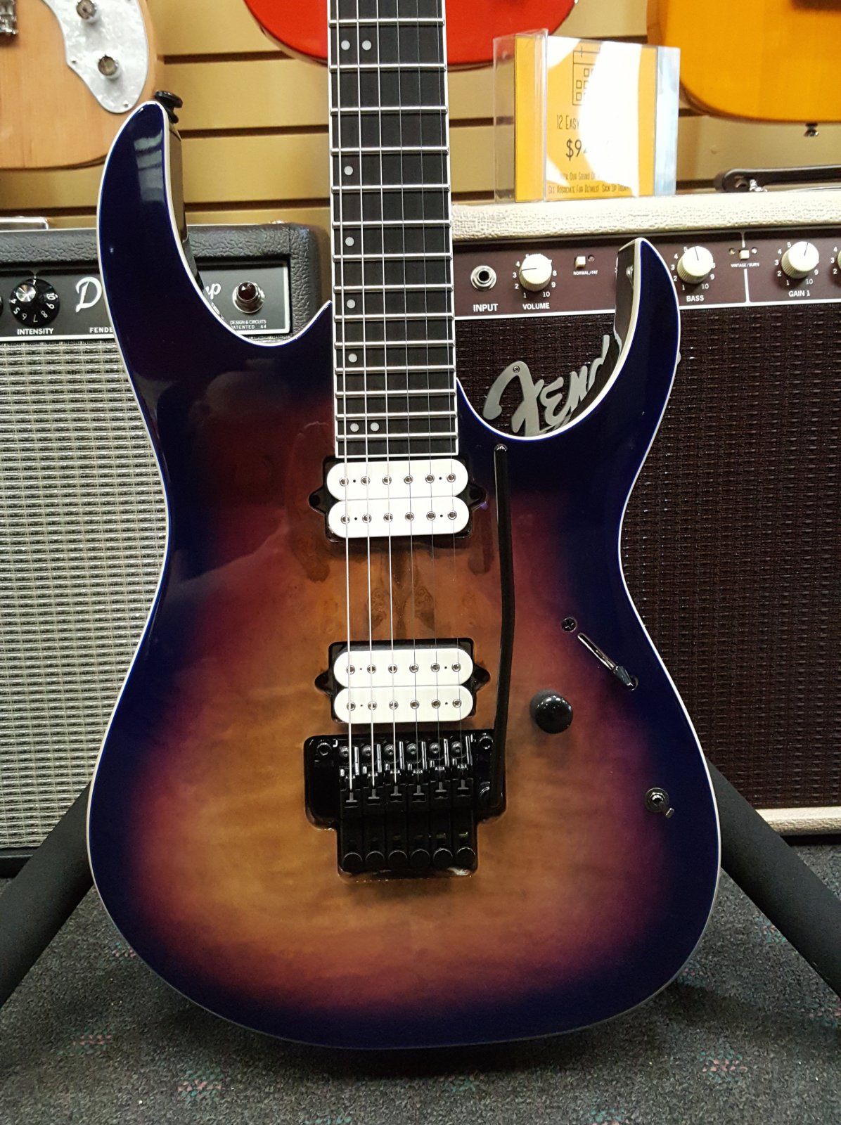 Ibanez RGIX6DLBSNB Iron Label 6str Electric Guitar - Supernova Burst