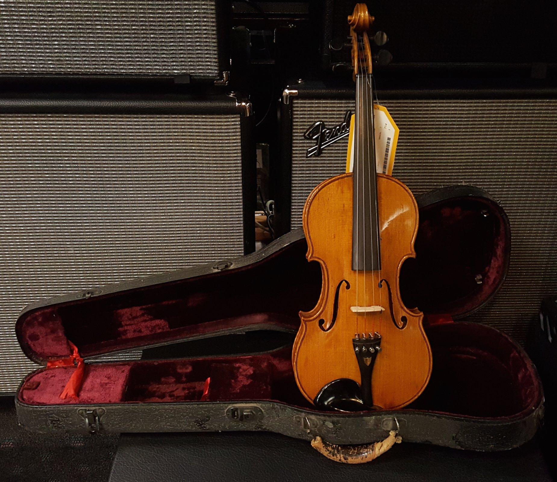 Vintage 1920 Carlos Micelli Violin w/ Case