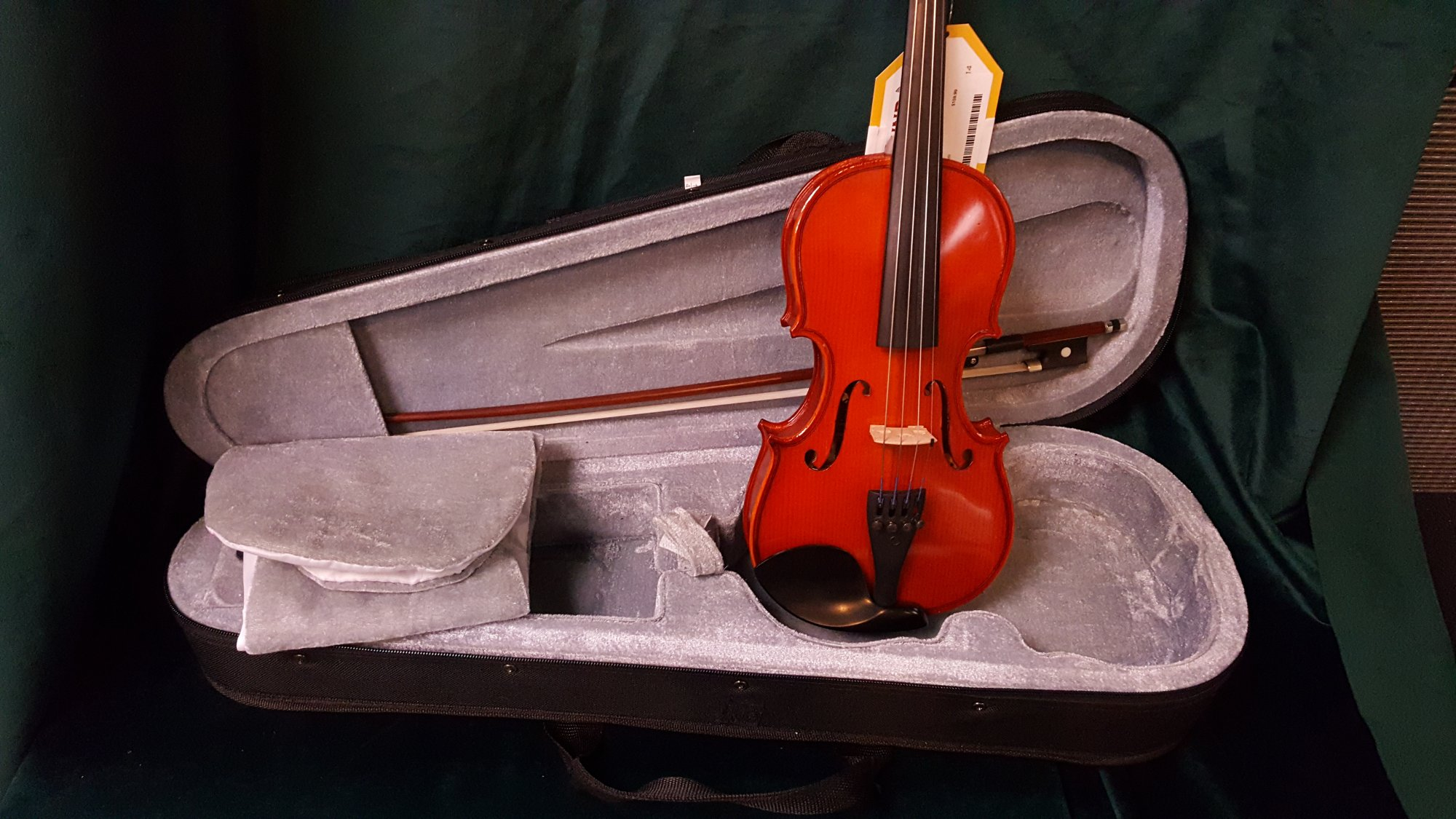 Used Sound of Music Symphony I 1/4 Size Violin Outfit