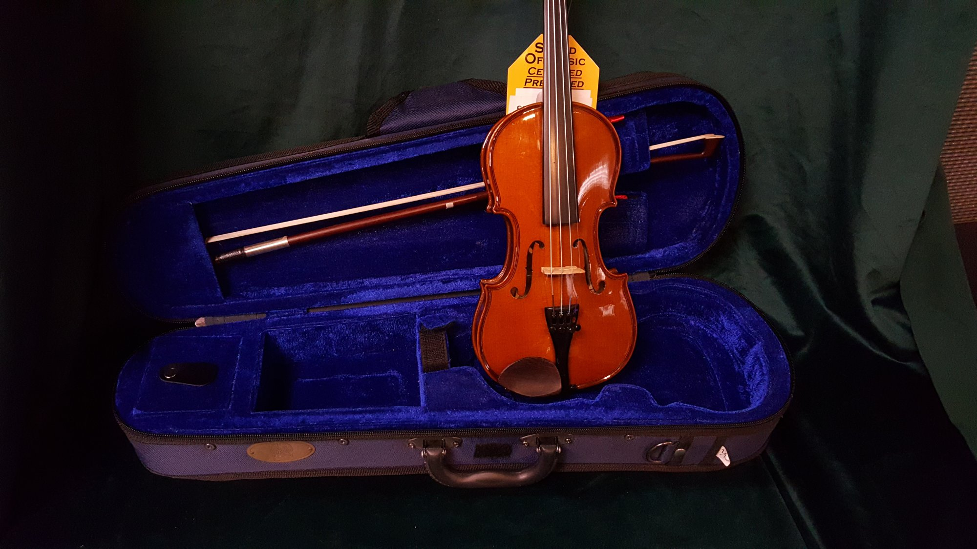 Used Sentor 1/10 Size Student Violin Outfit