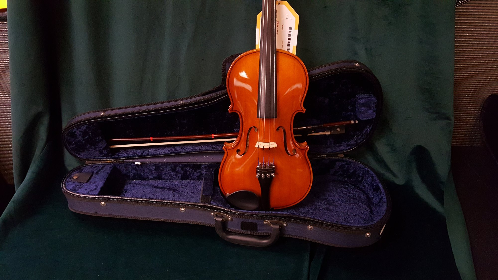 USED Franz Hoffman Etude 1/2   Violin Outfit