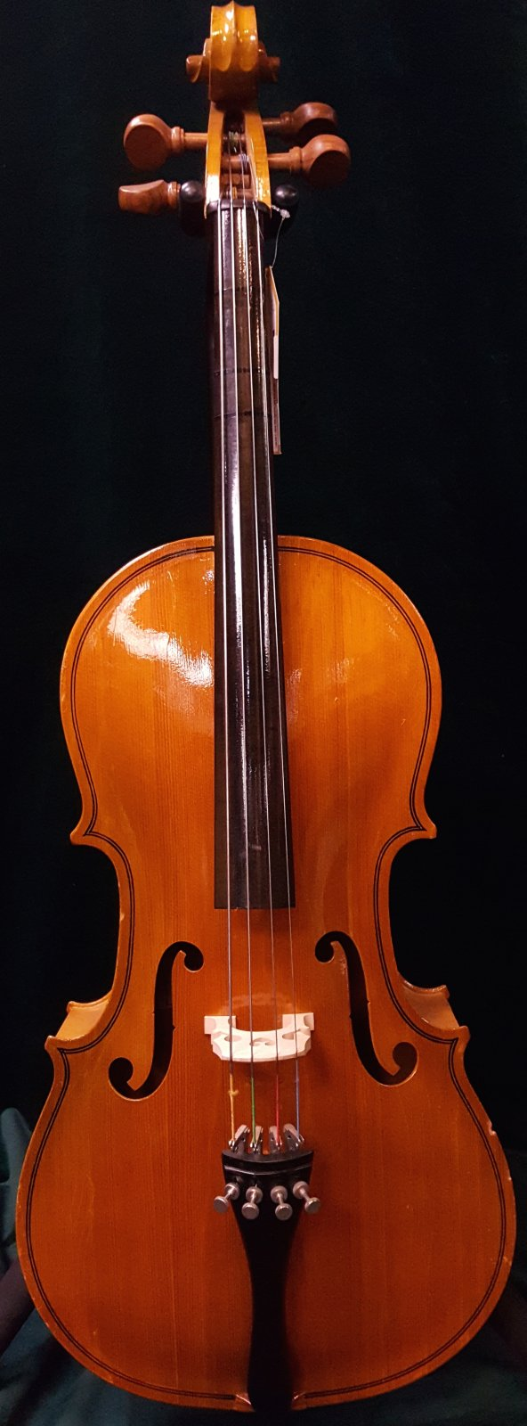 Used Englehardt Etude 1/2 Size Cello Outfit