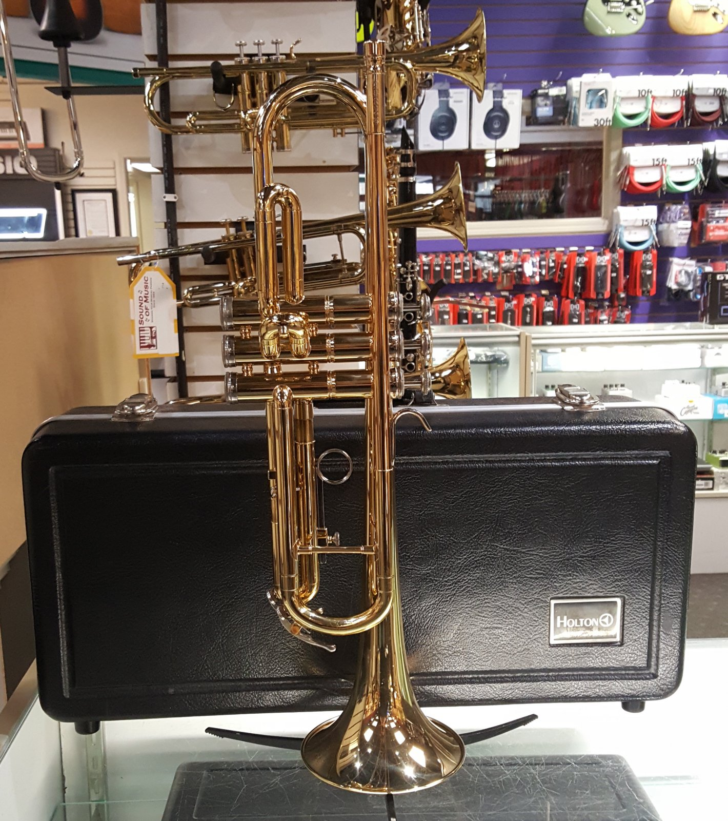 Used Holton T602 Trumpet w/ Case