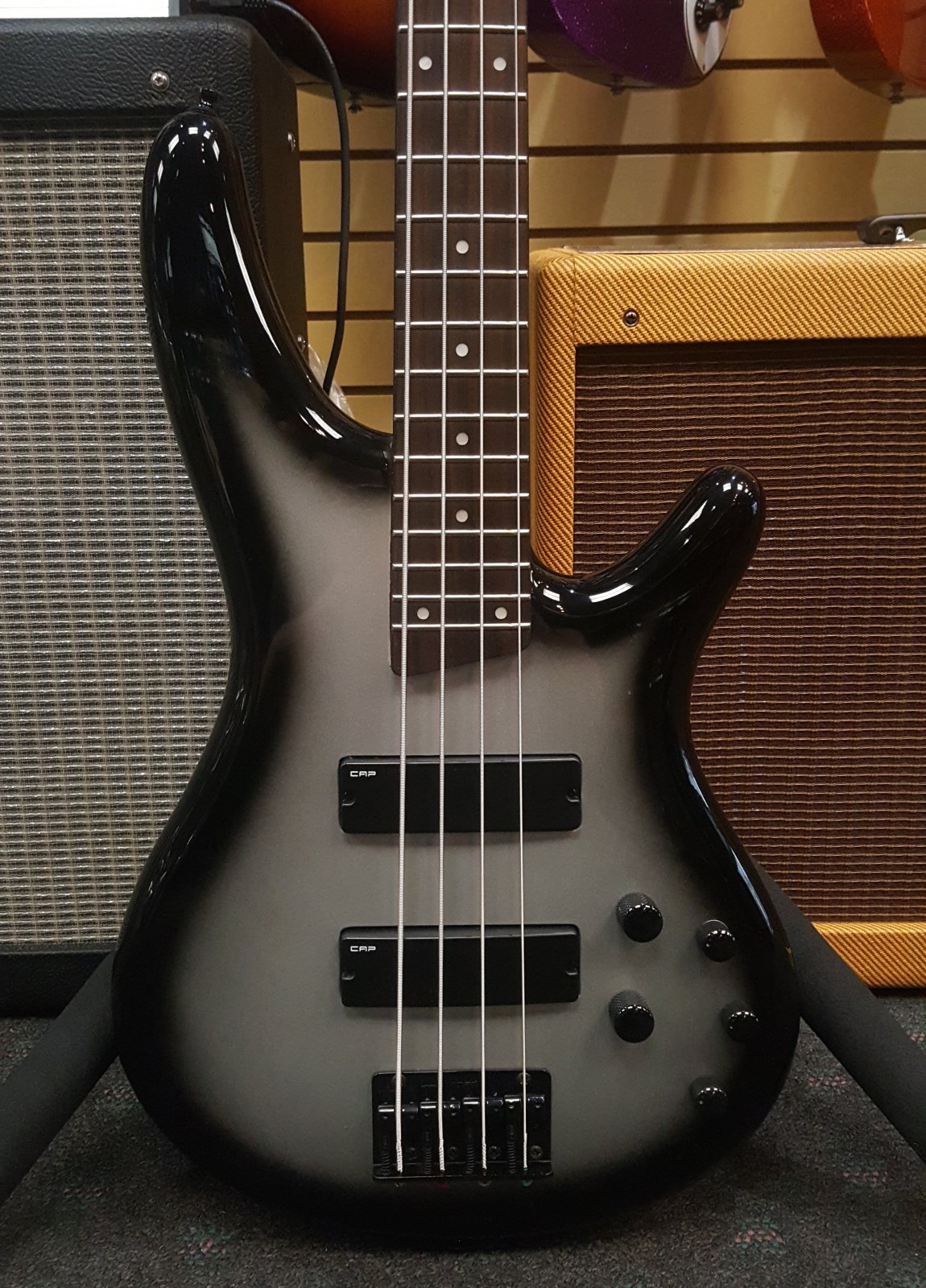 Used Ibanez SR300 Bass - Silverburst