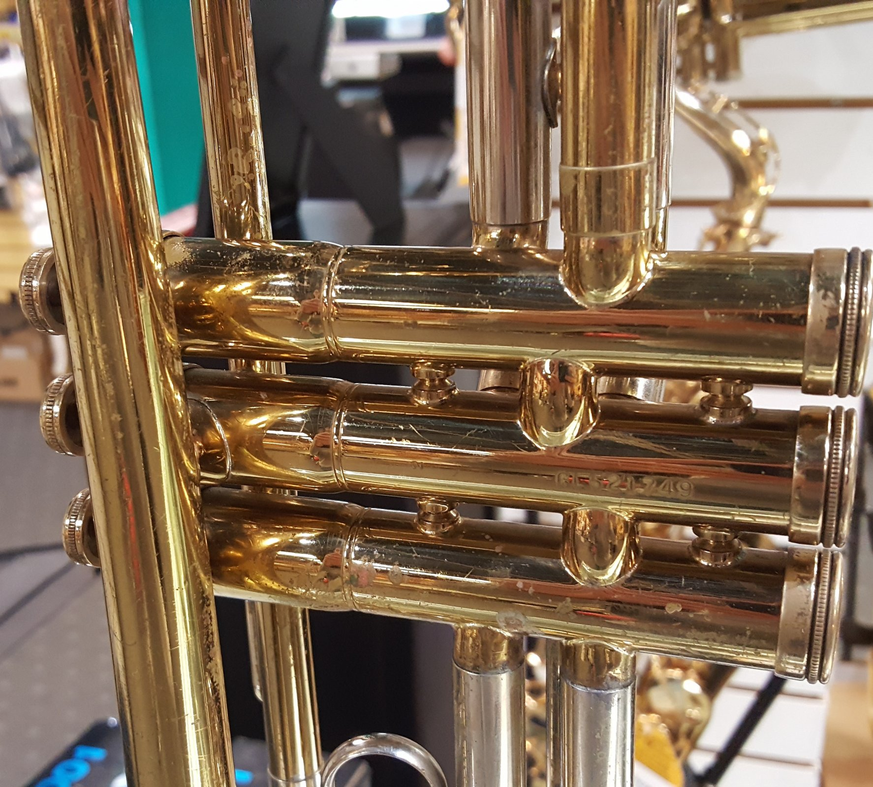 Used Conn 16B USA Trumpet w/ Case - 870834