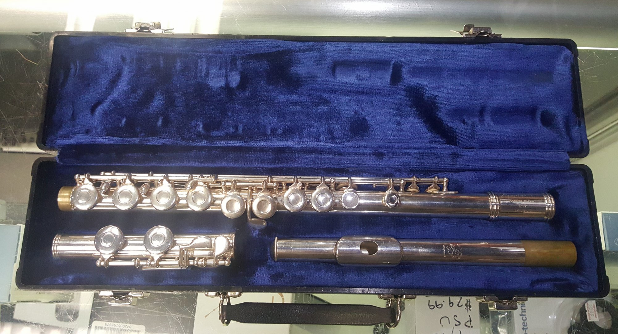 Used Gemeinhardt 2SP USA Flute w/ Case