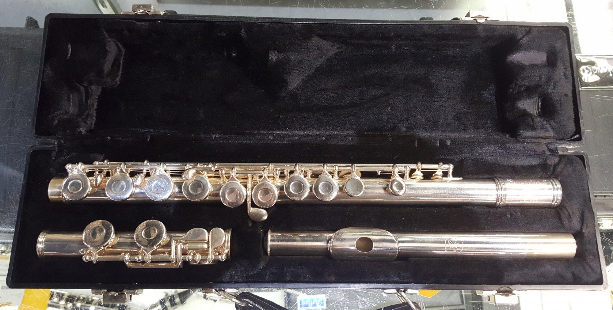 Used Gemeinhardt Complete Repad 2SP USA Flute w/ Case