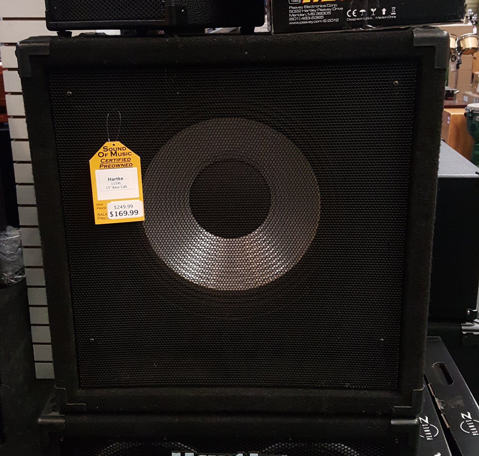 Used Hartke 115 XL 15 Bass Cabinet