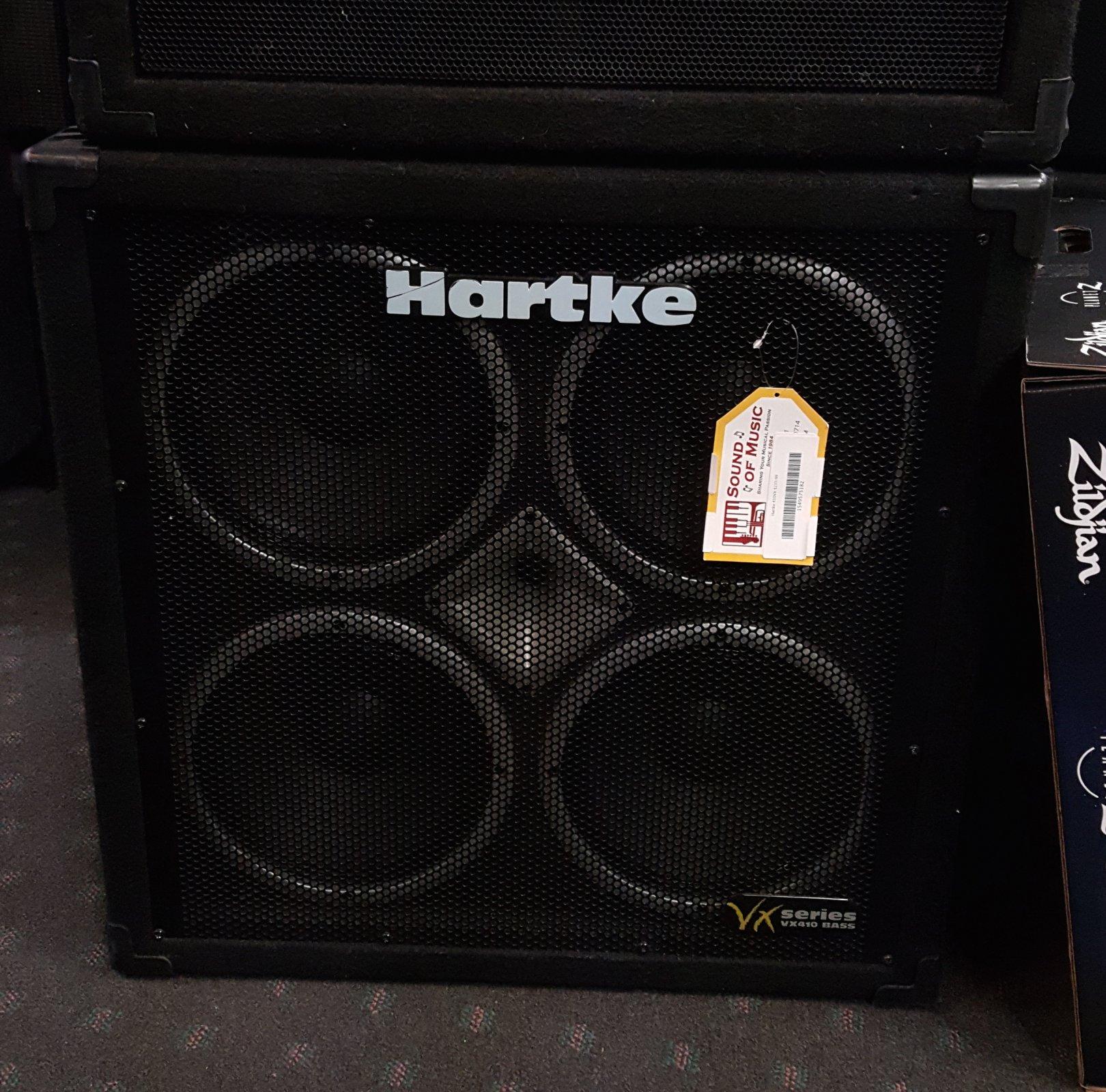 Used Hartke 410VX 4x10 Bass Cabinet
