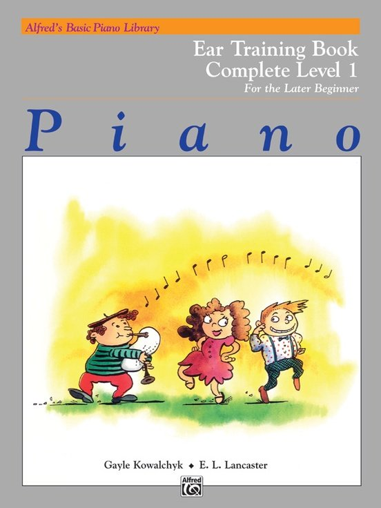 Alfred's Basic Piano Library Ear Training Complete Level 1