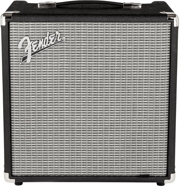 Fender Rumble 25 - Black/Silver