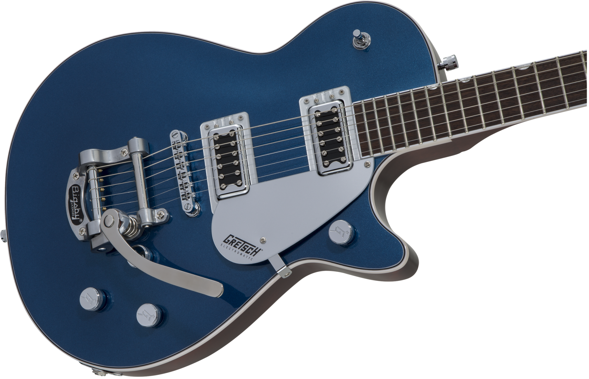 Gretsch G5230T Electromatic Jet FT Single-Cut with Bigsby, Aleutian Blue