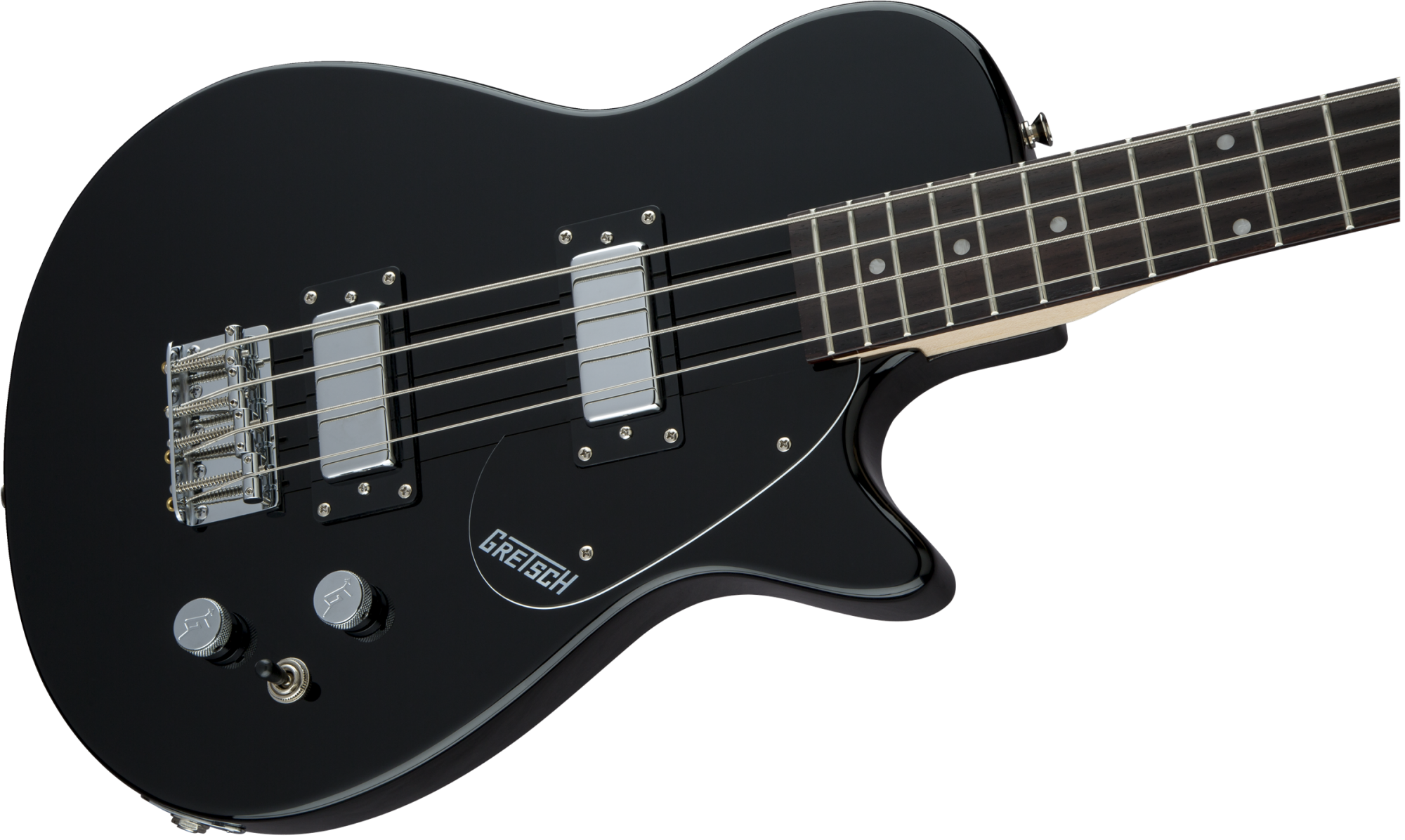 Gretsch G2220 Junior Jet Bass II 30.3 Scale - Black