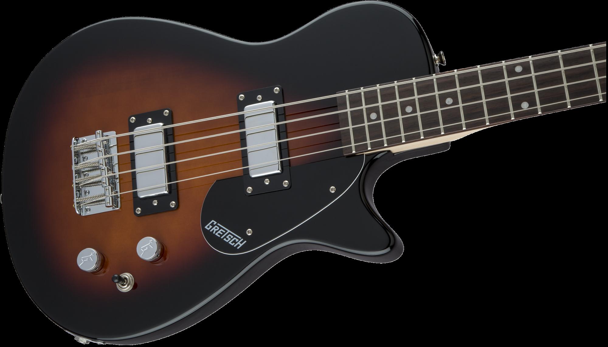 Gretsch G2220 Electromatic Junior Jet Bass II Short-Scale, Tobacco Sunburst