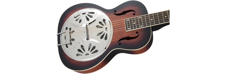 Gretsch G9230 Bobtail Square-Neck A.E., Mahogany Body Spider Cone Resonator Guitar, Fishman Nashville Resonator Pickup, 2-Color Sunburst