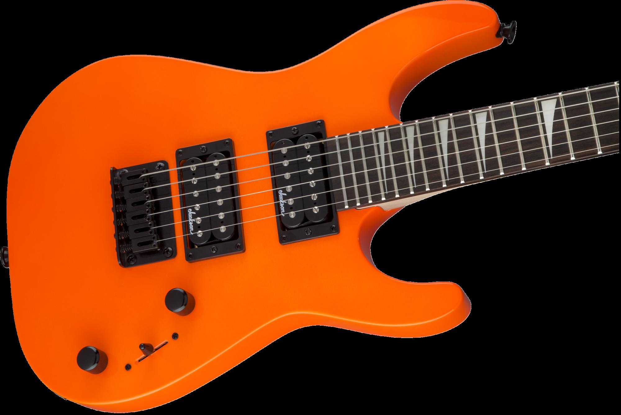 Jackson JS Series Dinky  Minion JS1X Neon Orange