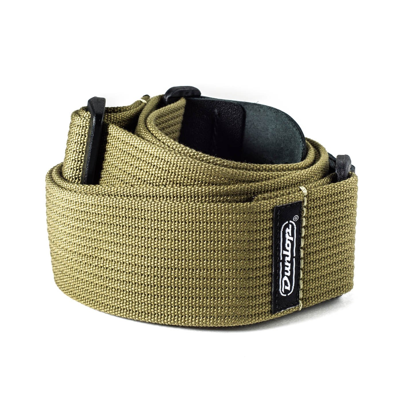 Dunlop Ribbed Cotton Strap - Olive Green