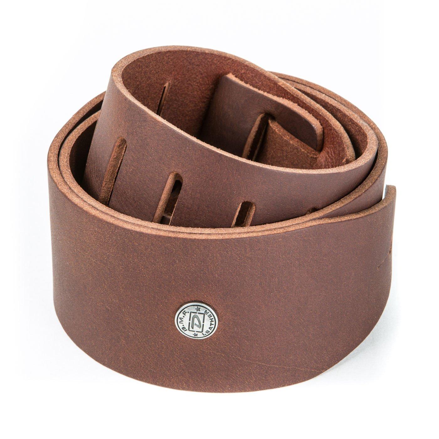Dunlop BMF13BR Belt Leather Strap - Belt Brown