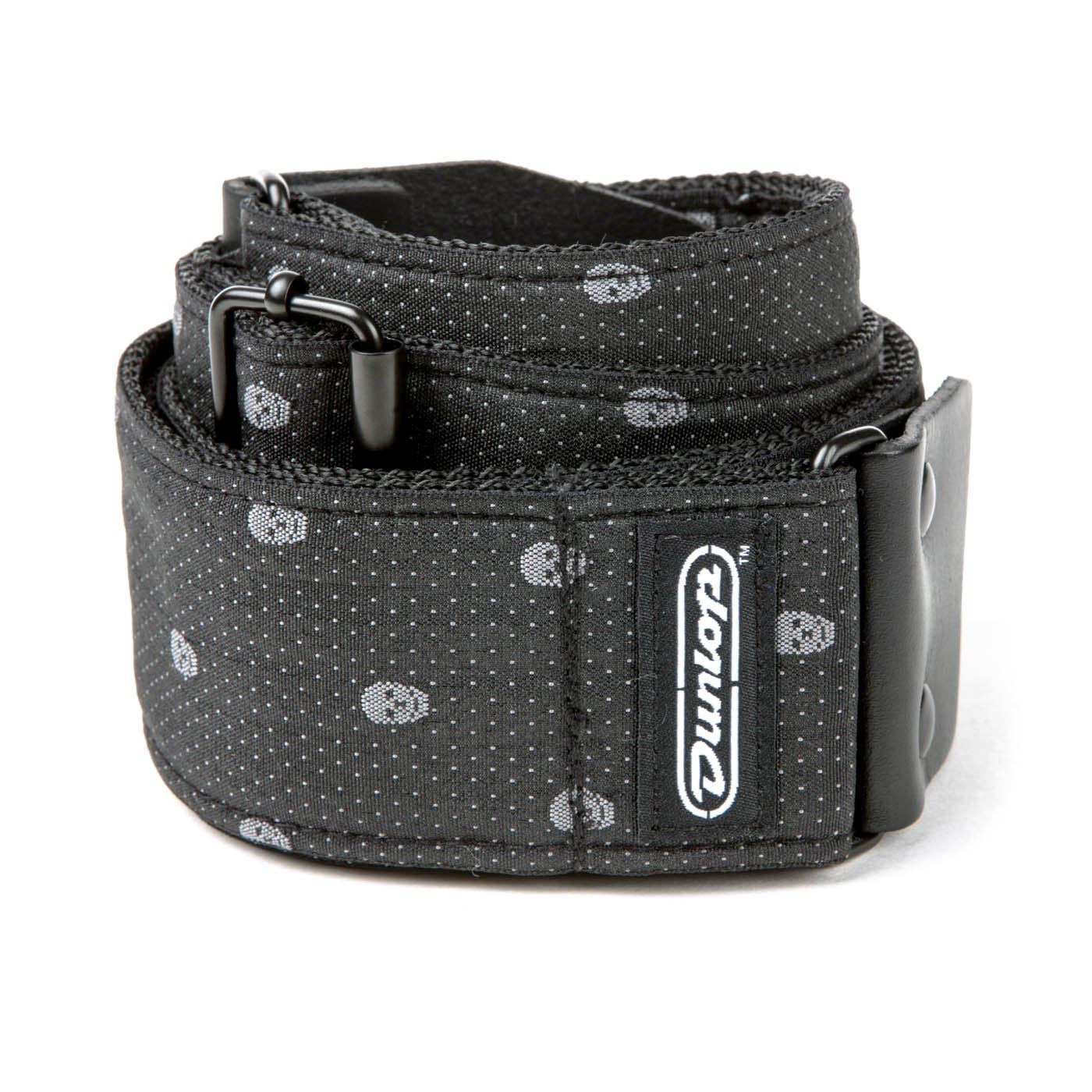 Dunlop D6707 Designer Jacquard Strap - Grey Skull