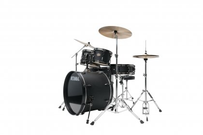 Black out black TAMA Imperialstar Complete Drum Kit