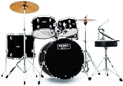 Mapex RB5044FTCCDK 5-Piece Complete Setup w/ Fast Size Toms - Black